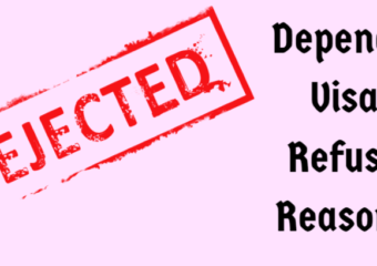 Reasons for student dependent visa refusals